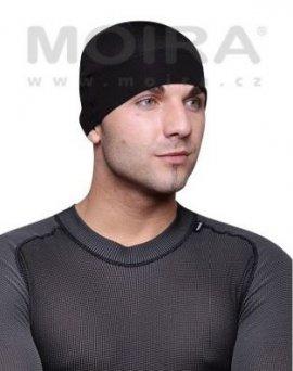Čiapka MOIRA pod prilbu, čierna S-M