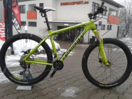 "HAIBIKE Edition 7.40 Plus 27,5""  2016, lime/čierna, 16"""