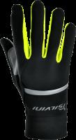 Rukavice SILVINI ISONZO UA905, zateplené, čierna/neon