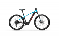 Mondraker Prime 29 2020, black/light blue/flame red