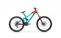 Mondraker Summum R 27.5 2020, light blue/flame red/black