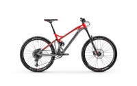 Mondraker Dune 2020, nimbus grey/flame red