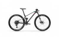 Mondraker F-Podium Carbon - DT Swiss 2020, carbon/white/flame red