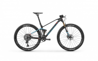 Mondraker F-Podium Carbon RR 2020, carbon/light blue/flame red