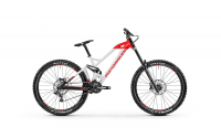 Mondraker Summum 27.5 2020, white/flame red/black