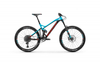Mondraker Dune R 2020, black/light blue/flame red