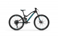 Mondraker Factor 26 2020, black/light blue/flame red