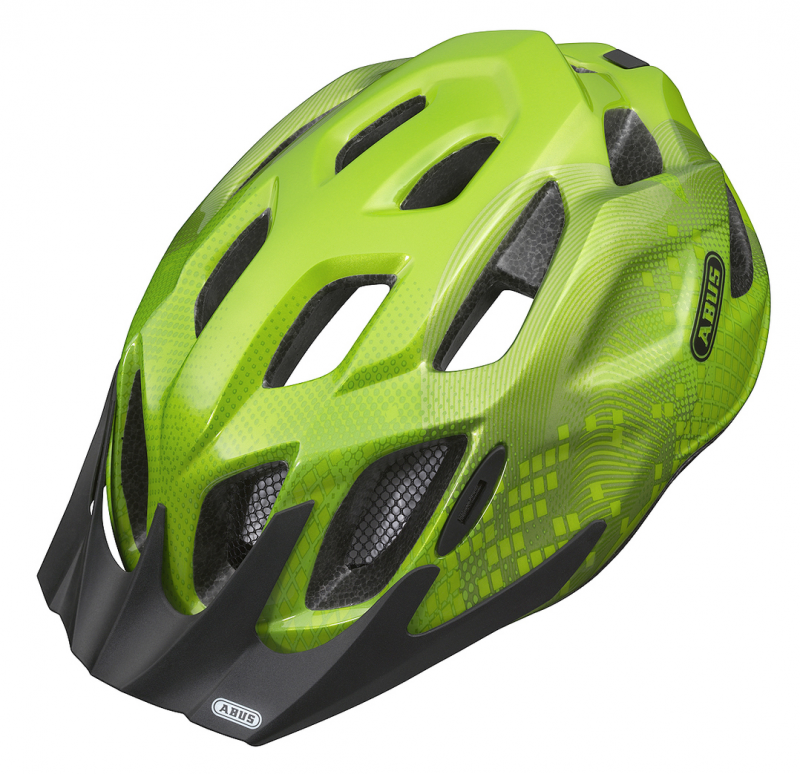 Prilba ABUS MOUNTX, Apple Green
