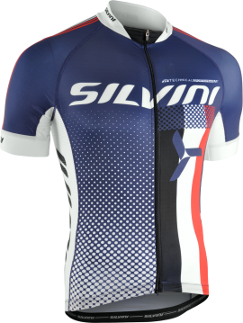 Dres SILVINI TEAM MD836, navy
