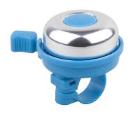 Zvonček PRO-T Colour, strieborna/modrá