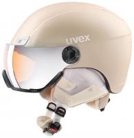 UVEX hlmt 400 visor style, prosecco met mat