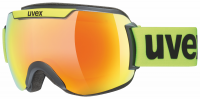 UVEX downhill 2000 CV black mat/mirror orange/colorvision green, S2, veľ. M