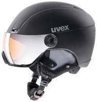 UVEX hlmt 400 visor style, black mat