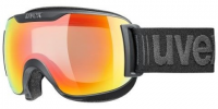 UVEX downhill 2000 S V black/variomatic rainbow mirror, S1-3, veľ. M