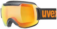 UVEX downhill 2000 CV black mat/mirror orange/colorvision yellow, S1, veľ. M