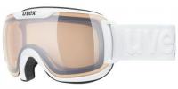 UVEX downhill 2000 S V white /variomatic silver mirror, S1-3, veľ. M