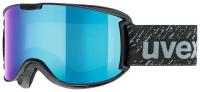 UVEX skyper LM black mat/mirror blue, S3, veľ. S