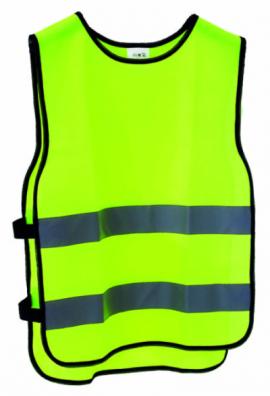 Reflexná vesta , žltá neónová, univerzálna veľkosť