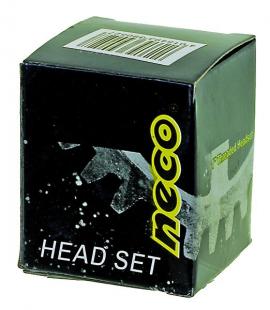 """Hlavové zloženie NECO ,HALF- AHEAD, čierne 1"""",oceľ"""