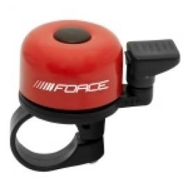 Zvonček FORCE MINI Fe/plast 22,2mm paličkový, červený