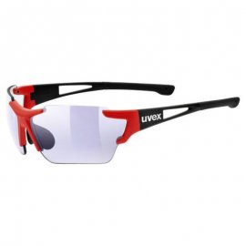 Okuliare UVEX SPORTSTYLE 803 RACE VM, black red mat