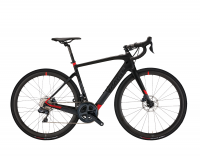 Wilier CENTO1HYBRID E009UN 2020, black/red matt