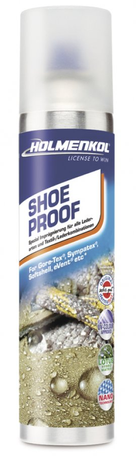 Impregnácia HOLMENKOL Shoe Proof, 250 ml