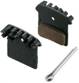 Brzdové platničky+pružinky F03C na BRM985 metal s chladičom