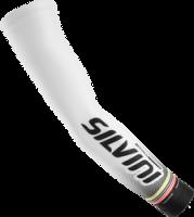 Návleky na ruky SILVINI TUBO-TEAM UA846, biele