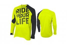 Enduro dres KELLYS RIDE YOUR LIFE, dlhý rukáv, lime, S