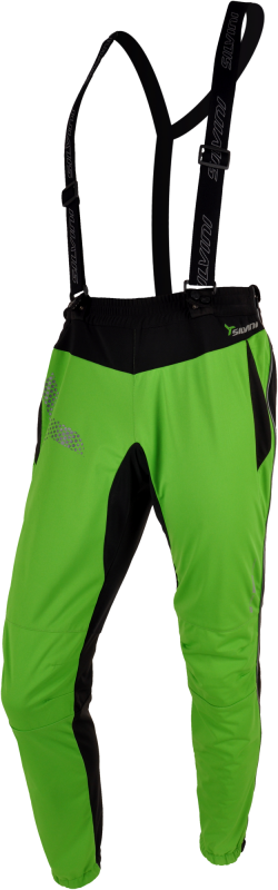 Nohavice SILVINI PRO FORMA MP322, softshell, green