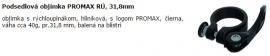 Podsedlová objímka PROMAX RÚ, 31,8mm