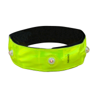 Reflexná páska LONGUS 4LED, žltá, 3x42 cm