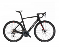 Wilier CENTO10HYBRID E012LN 2020, black/grey/red - matt & glossy, L