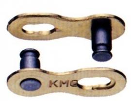 Spojka reťaze 1/2x11/128 pre 6,6mm,9 rých.,strieb.