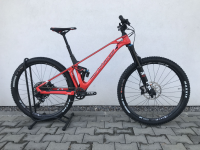 Mondraker Foxy Carbon R 29 2020, flame red/carbon - testovací bicykel