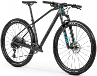 Mondraker Podium Carbon 2020, black phantom/light blue - testovací bicykel