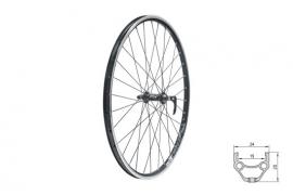 """Zapletené koleso predné KLS DRAFT F, 26"""", black"""