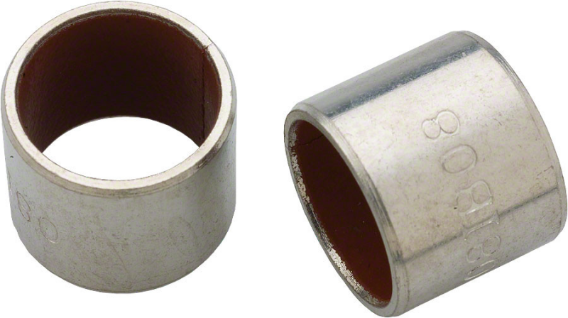 "REAR SHOCK EYELET BUSHING 1/2""X1/2"" QTY 2 ROCKSHOX"