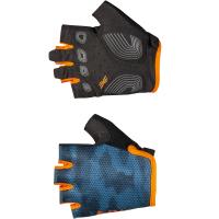 Northwave Active Junior Short Finger Glove, blue/orange