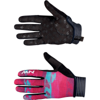 Northwave Air Lf W Full Finger Glove, beetroot/green, S