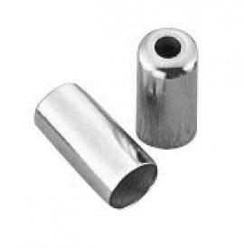 Koncovka bowdenu JAGWIRE BOT115-3, otvorená, chrom-mosadzná, 5 mm
