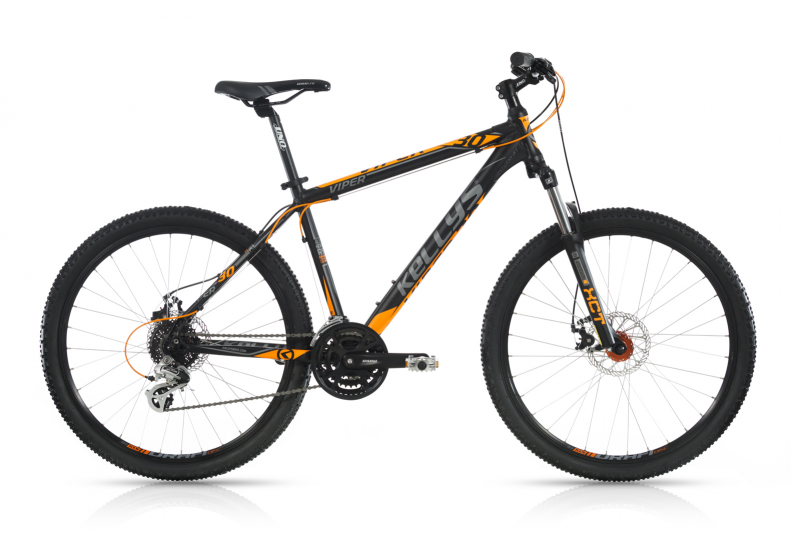 "KELLYS Viper 30 Black Orange 26""  2017, 15,5"" (395 mm)"