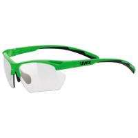 Okuliare Uvex 802 V small, green/smoke, S1-3