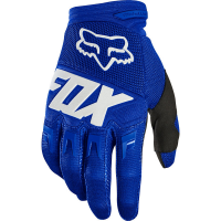 Rukavice Fox DIRTPAW, blue/white