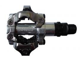 Pedále MTB PD-M520 SPD bez odrazky+zar. SM-SH51 strieb.