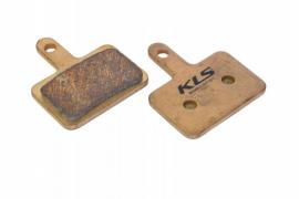 Brzdové platničky KLS D-04S, sintrované (pár)