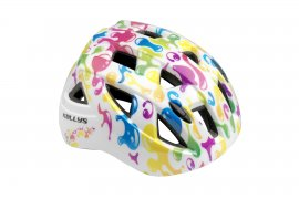 Prilba KLS SMARTY, graffiti white, S (51 - 54 cm)
