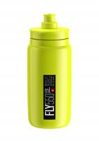 Fľaša Elite FLY, žltá čierne logo 550 ml