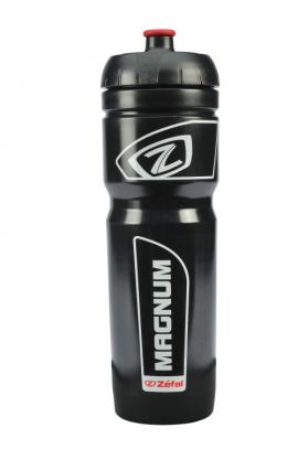 Fľaša ZÉFAL MAGNUM, čierna/biela, 1000 ml